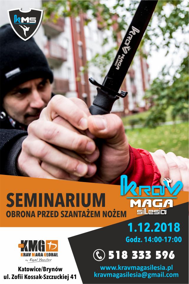 Bezpłatne seminarium – Obrona przed szantażem nożem