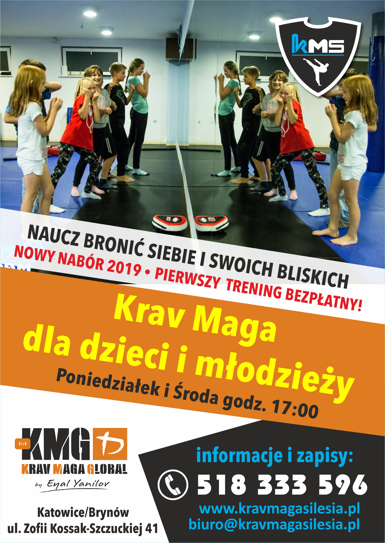 Nabór do grupy Krav Maga dla dzieci i młodzieży